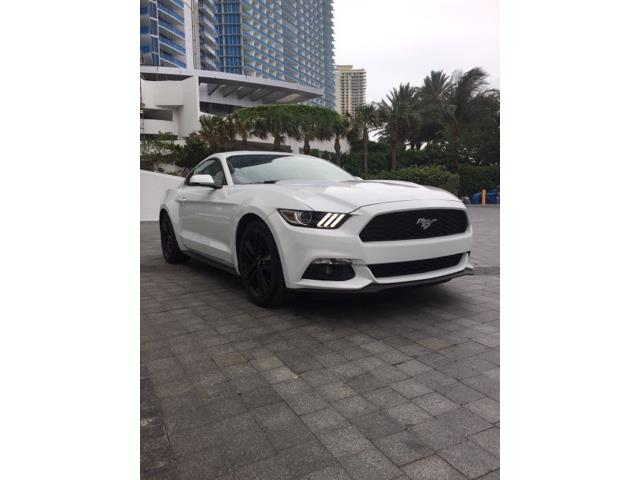 FORD MUSTANG (07/2017) - white - lieu: