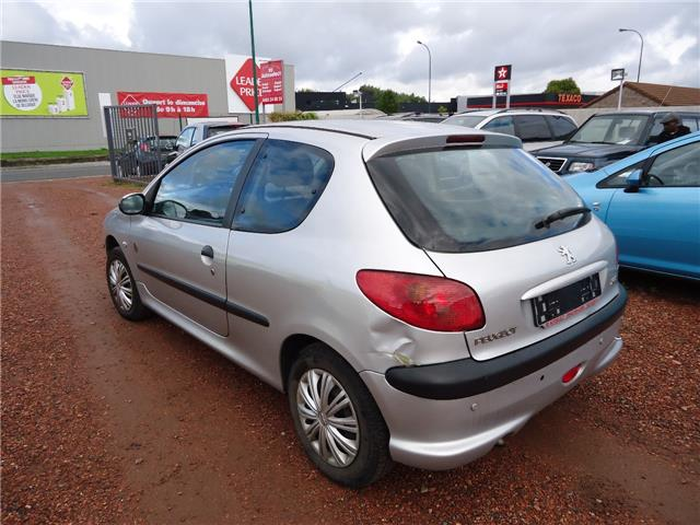 Left hand drive car PEUGEOT 206 (04/2008) - grey - lieu:
