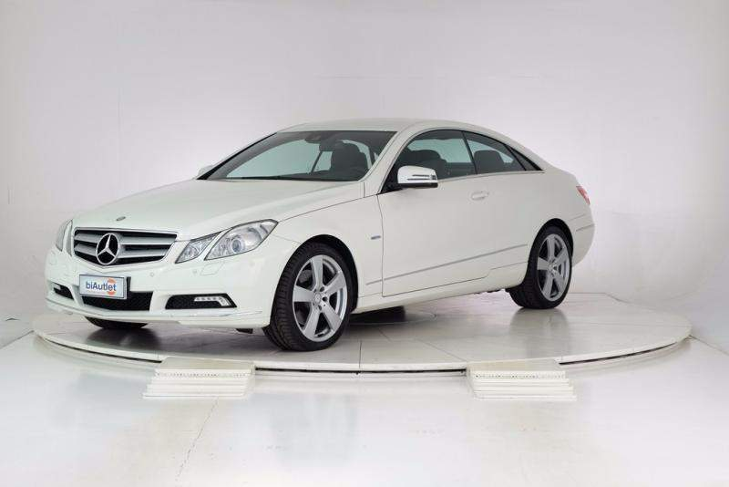 Left hand drive MERCEDES E CLASS 350 CDI Coupe