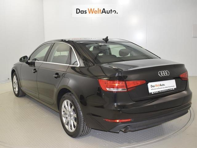 lhd car AUDI A4 (02/2017) - black - lieu: