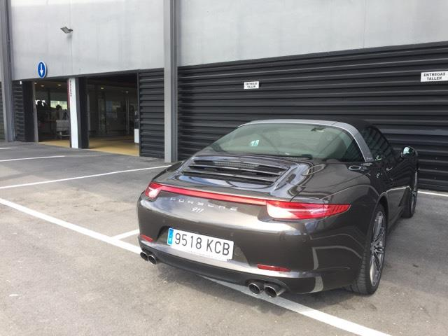 LHD PORSCHE 911 TURBO (01/01/2015) - brown - lieu: