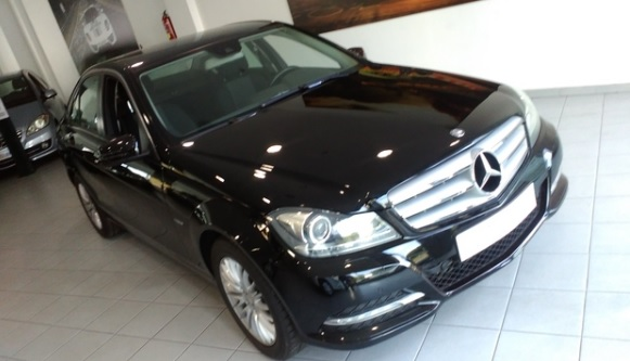 Left hand drive MERCEDES C CLASS C 220 CDI Blue Efficiency Spanish Reg