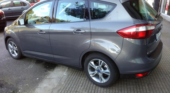 lhd FORD C MAX (01/2015) - Grey - lieu:
