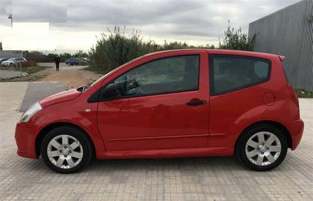 lhd CITROEN C2 (09/2006) - Red - lieu: