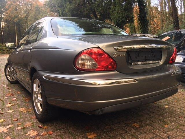 Lhd JAGUAR X TYPE (04/2004) - grey