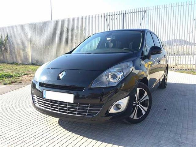 Left hand drive car RENAULT GD SCENIC (01/2011) - Black - lieu: