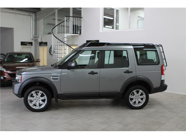Left hand drive car LANDROVER DISCOVERY (03/2012) - grey - lieu: