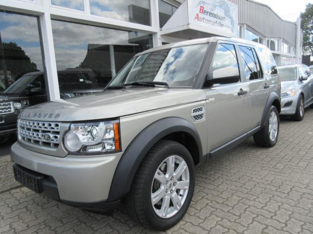 Left hand drive LANDROVER DISCOVERY 4 TDV6 S