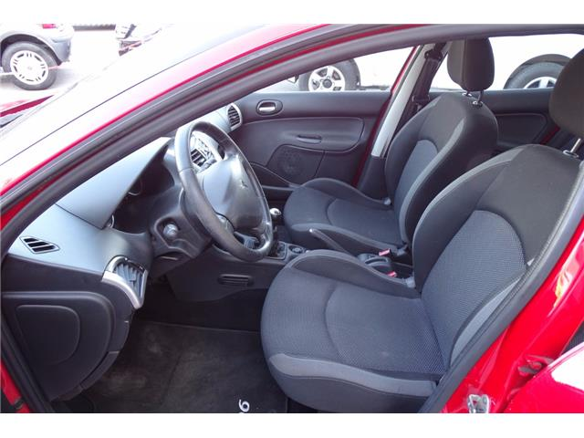 left hand drive PEUGEOT 206 (05/2012) - red - lieu: