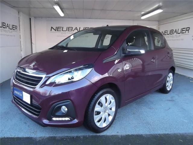 PEUGEOT 108 (02/2017) - purple - lieu: