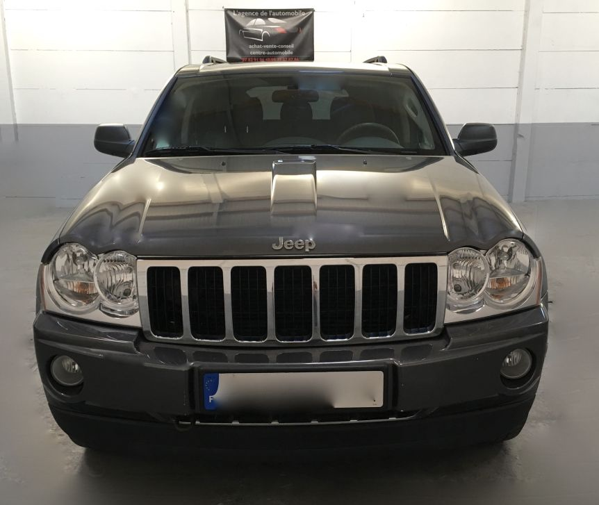 lhd car JEEP CHEROKEE (01/2005) - grey - lieu: