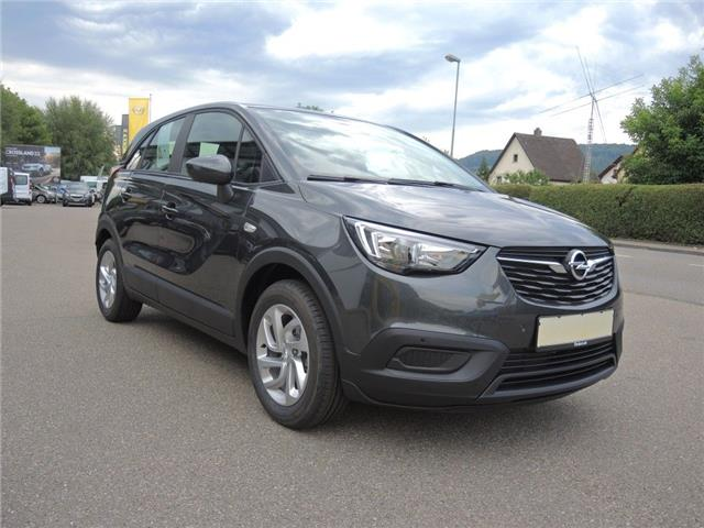 Left hand drive OPEL CROSSLAND X 1.2 Edition