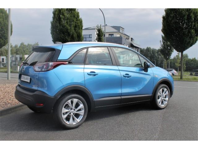 lhd car OPEL CROSSLAND (08/2017) - blue - lieu: