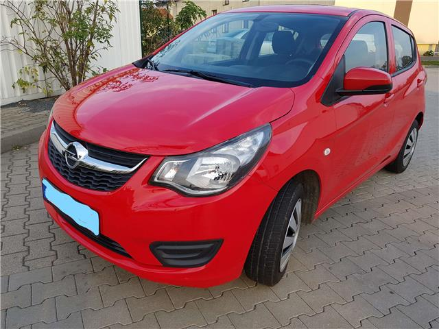 OPEL KARL (10/2015) - red - lieu: