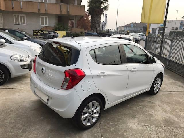 Left hand drive car OPEL KARL (01/2016) - white - lieu: