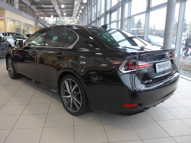 Left hand drive car LEXUS GS 450 (05/2016) - black - lieu: