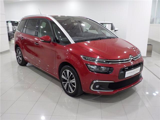 lhd CITROEN C4 GRAND PICASSO (03/2017) - red - lieu: