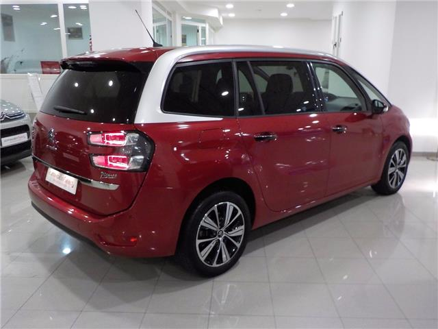 Left hand drive car CITROEN C4 GRAND PICASSO (03/2017) - red - lieu:
