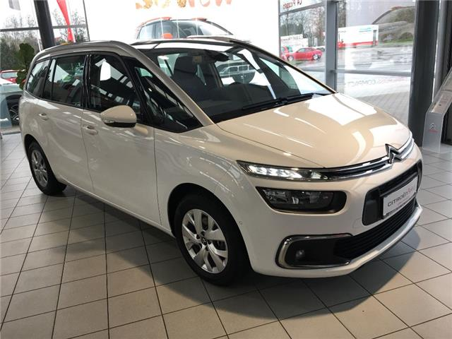 lhd CITROEN C4 GRAND PICASSO (03/2017) - white - lieu: