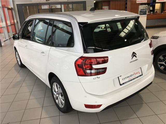 CITROEN C4 GRAND PICASSO (03/2017) - white - lieu:
