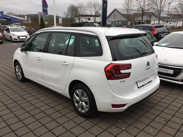 CITROEN C4 GRAND PICASSO (04/2017) - white - lieu: