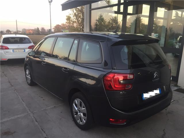 Left hand drive car CITROEN C4 GRAND PICASSO (06/2015) - grey - lieu:
