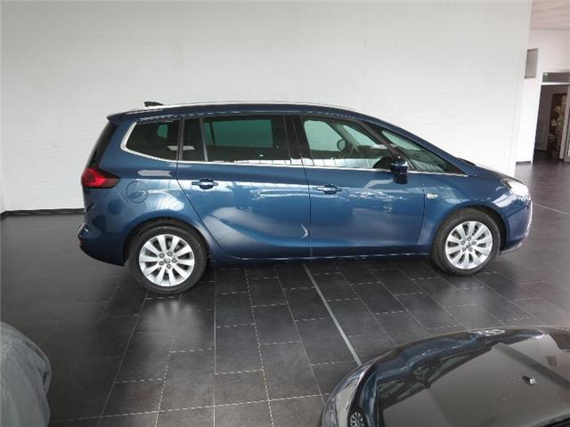 Left hand drive car OPEL ZAFIRA (02/2016) - blue - lieu: