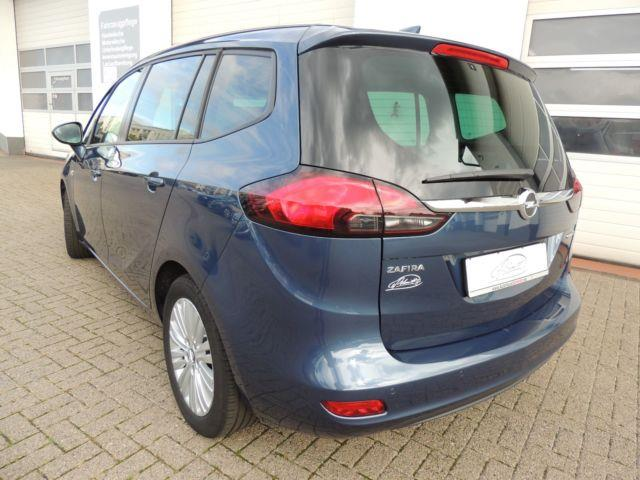Left hand drive car OPEL ZAFIRA (02/2017) - blue - lieu: