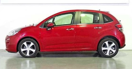 LHD CITROEN C3 (01/06/2016) - Red - lieu: