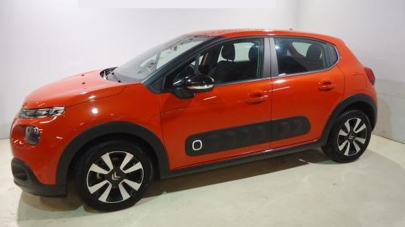 CITROEN C3 (02/2017) - Orange - lieu: