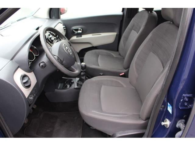 left hand drive DACIA LODGY (12/2014) - blue - lieu: