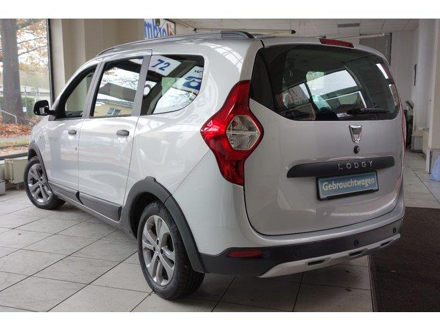 Left hand drive DACIA LODGY dCi 110  Stepway Media-Navi