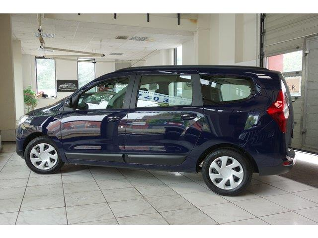 DACIA LODGY (02/2017) - blue - lieu: