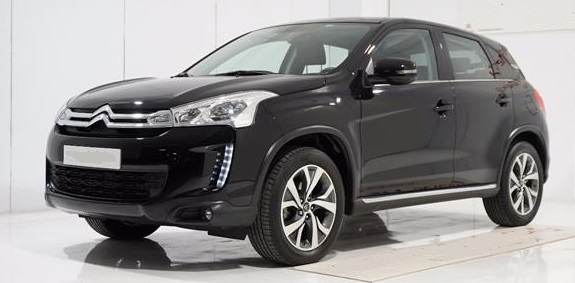 CITROEN C4 AIRCROSS (03/2017) - Black - lieu: