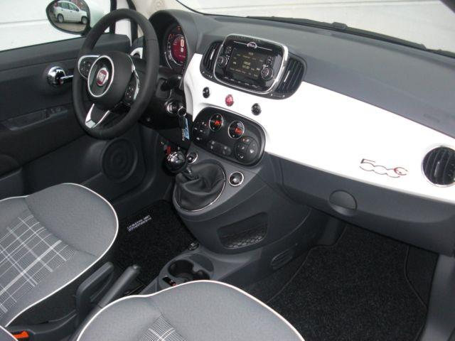 Left hand drive car FIAT 500C (04/2016) - white