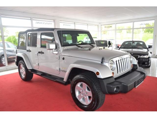 Lhd JEEP WRANGLER (05/2010) - silver