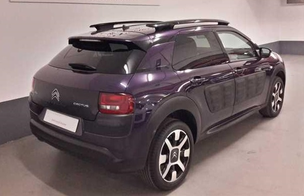 Left hand drive CITROEN C4 CACTUS BlueHDi 100 Shine Spanish Reg