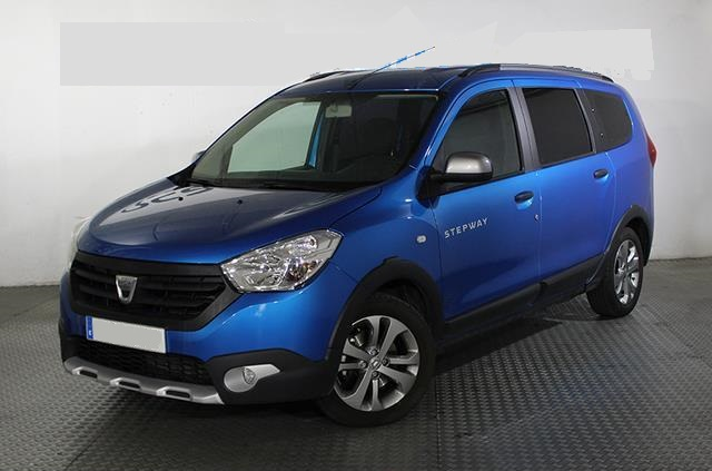 Left hand drive DACIA LODGY dCi 79 kW Stepway 7 Plazas Spanish Reg