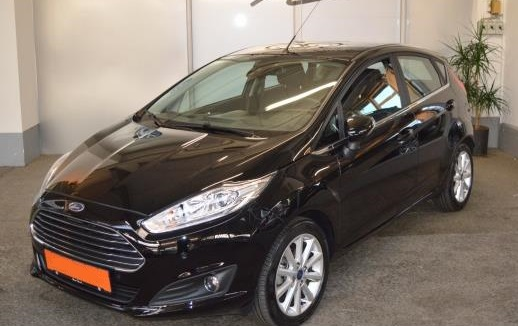 FORD FIESTA (02/2017) - Black - lieu:
