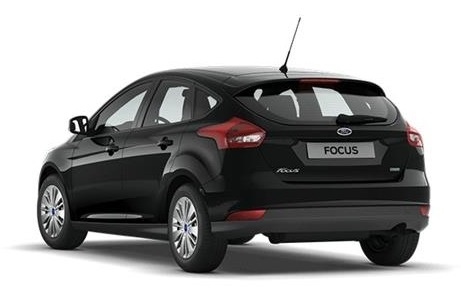 FORD FOCUS (02/2016) - Black
