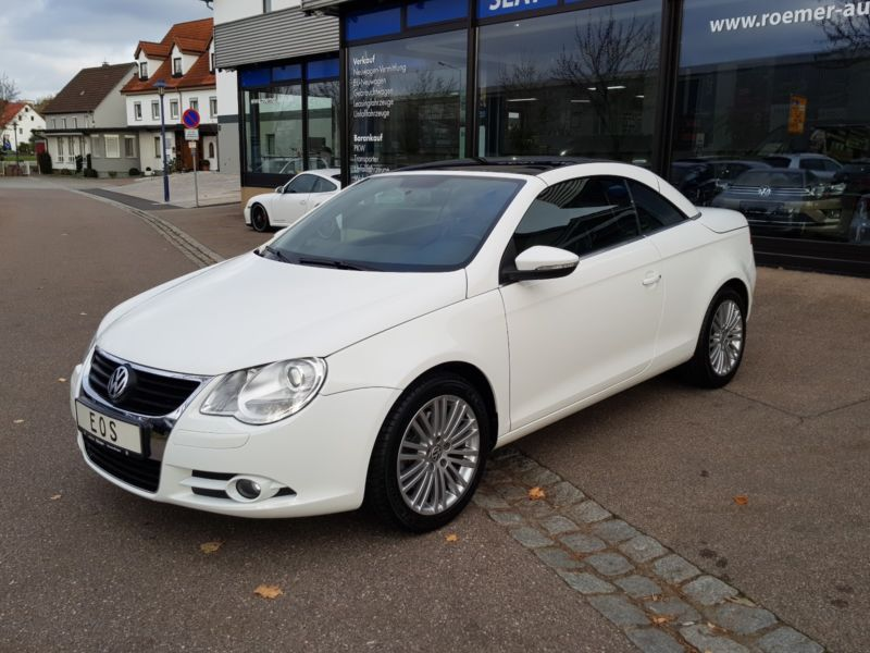 Left hand drive VOLKSWAGEN EOS 1.4 TSI LEATHER
