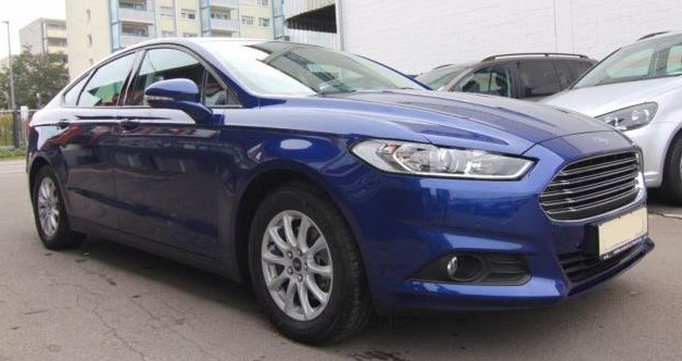 Left hand drive FORD MONDEO 2.0 TDCI Aut. Business Edition
