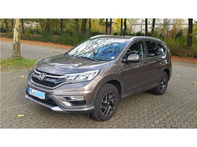 lhd HONDA CR V (09/2016) - brown - lieu: