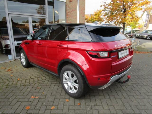 Left hand drive car LANDROVER RANGE ROVER (01/2016) - red - lieu: