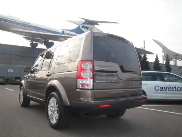 Left hand drive car LANDROVER DISCOVERY (11/2012) - brown - lieu: