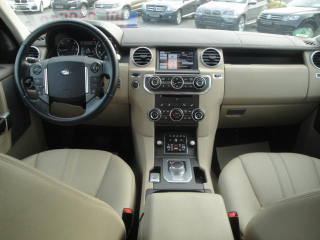 left hand drive LANDROVER DISCOVERY (11/2012) - brown - lieu: