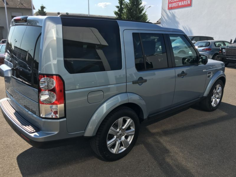 Left hand drive car LANDROVER DISCOVERY (12/2012) - silver - lieu: