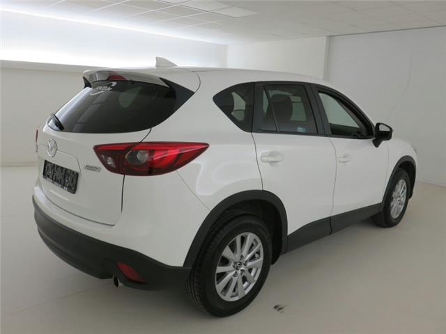 Left hand drive car MAZDA CX-5 (02/2016) - white - lieu: