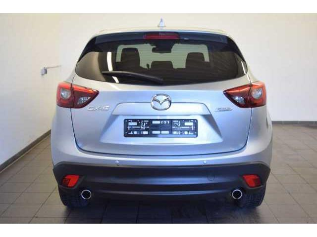 Left hand drive car MAZDA CX-5 (06/2016) - silver - lieu: