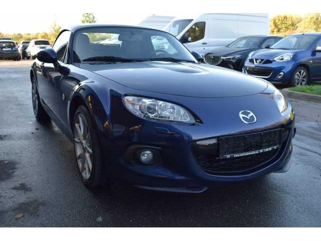 Left hand drive MAZDA MX 5 2.0 MZR Roadster Coupe Sports-Line